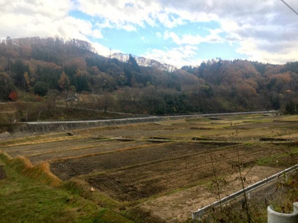 草尾の田園風景
