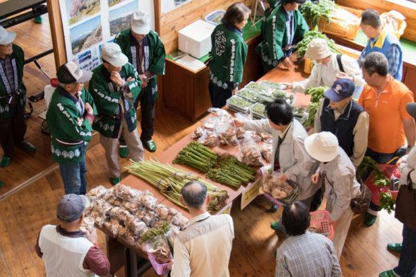 高津屋森林公園春の山菜まつり