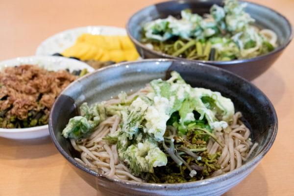 山菜そば&うどん